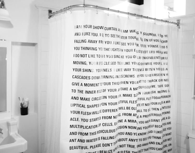My Favorite Thing Issue 16 Is A Shower Curtain By Dave Eggers It Features Monologue The To Mr Including Lines Like I Dont
