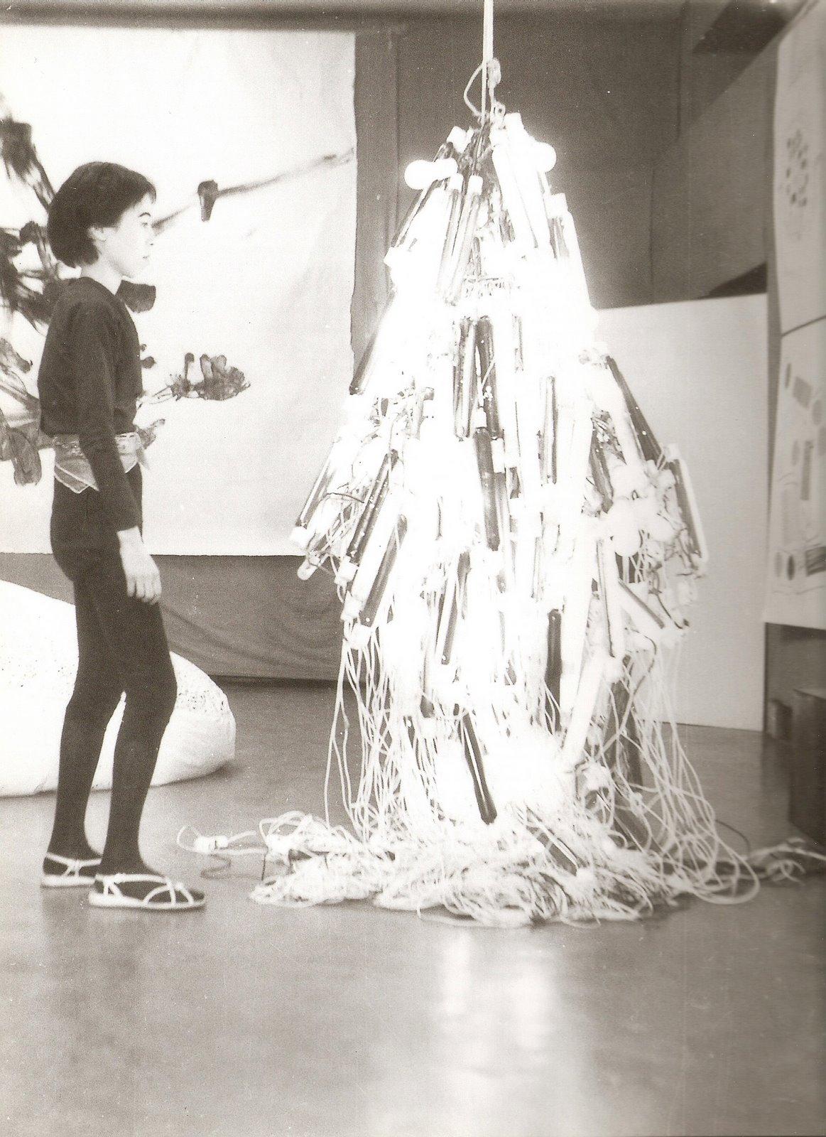 Arts Bombast: Atsuko Tanaka | Ribbon Around A Bomb