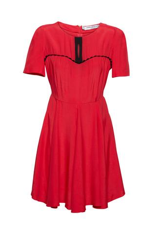 western 2 ric rac dress