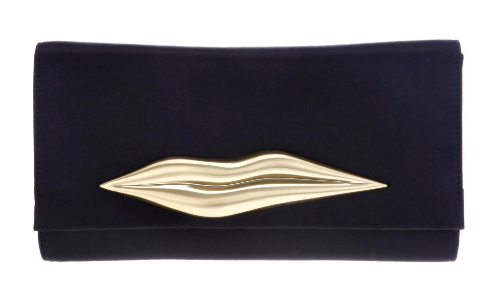 lips dvf clutch