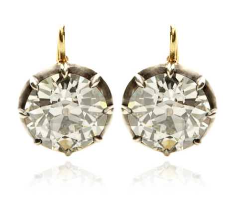 mo diamond earrings