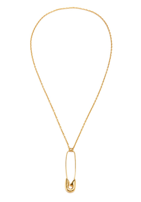 moda operandi binns safety pin necklace