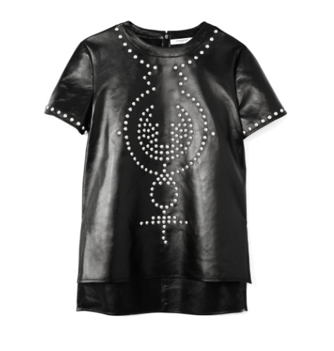 moda operandi leather tee