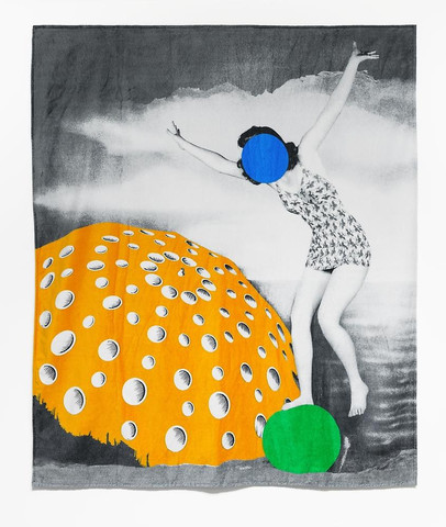 beach towel john baldessari
