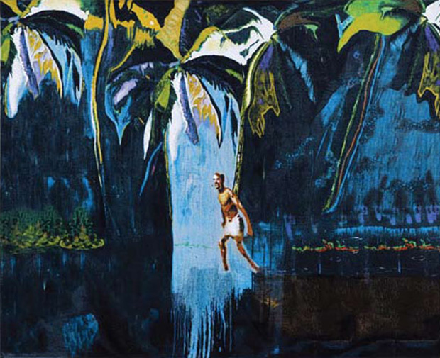 beach towel peter doig