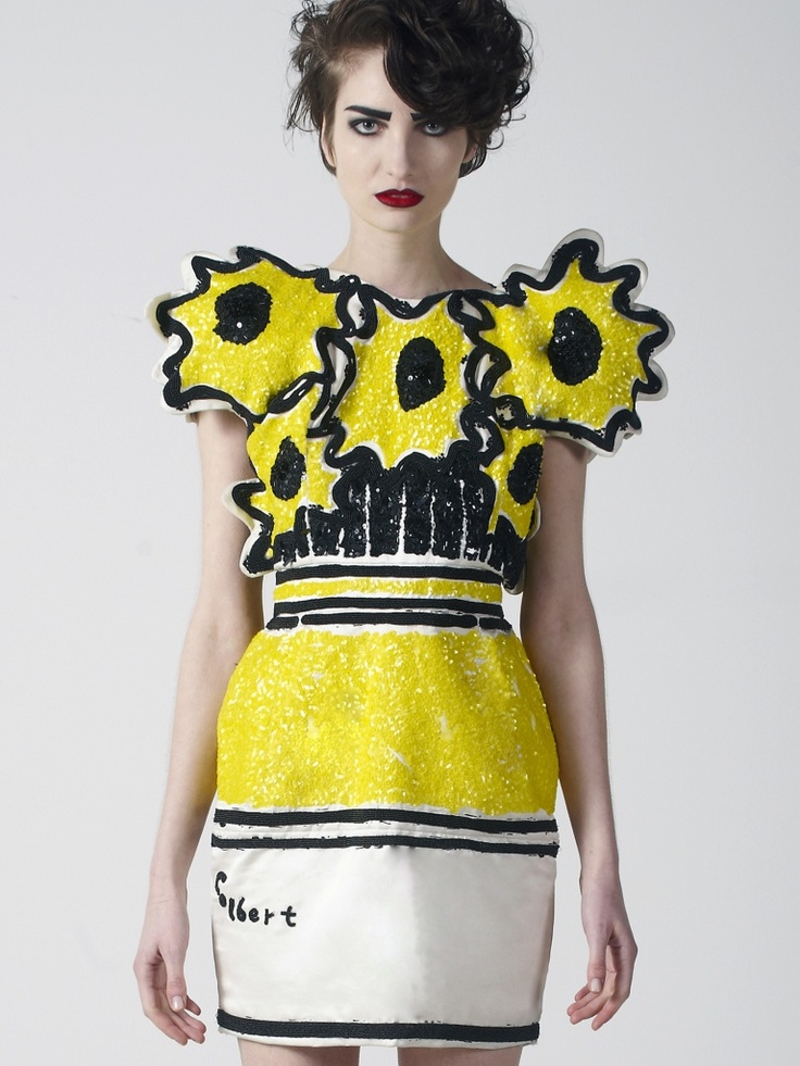 Style Ish Philip Colbert S Sequined Pop Art Frocks