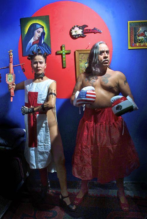 Ni Frida ni Diego Violeta Luna & GP's anti-hommage 2004