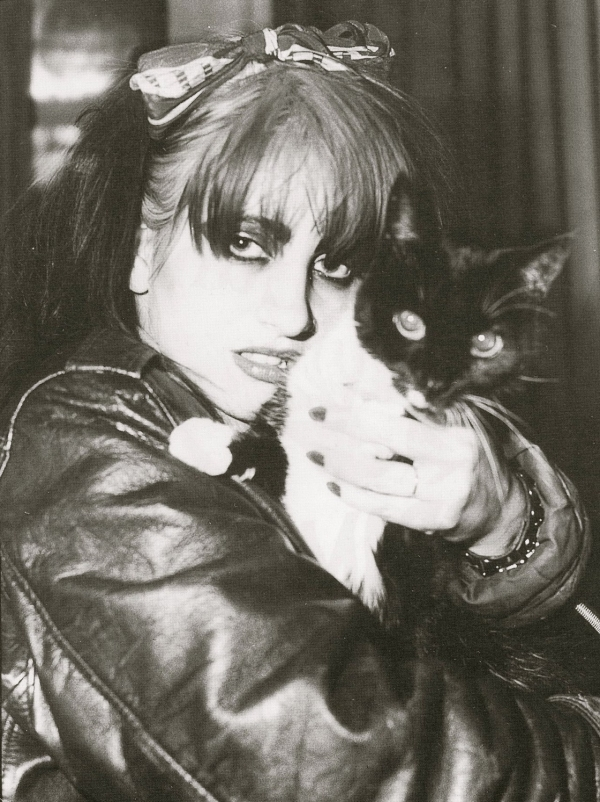 lydia with cat