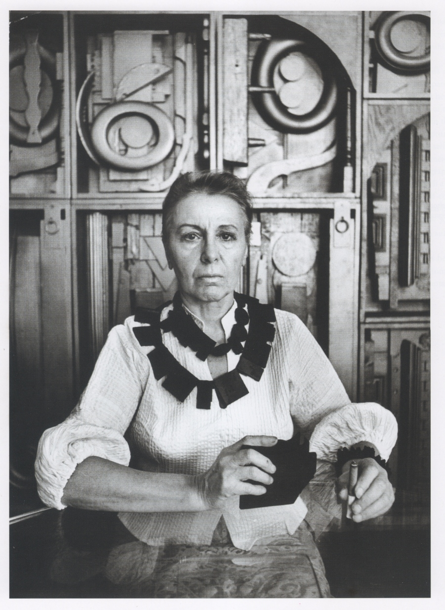 louise nevelson ugo mulas 1965