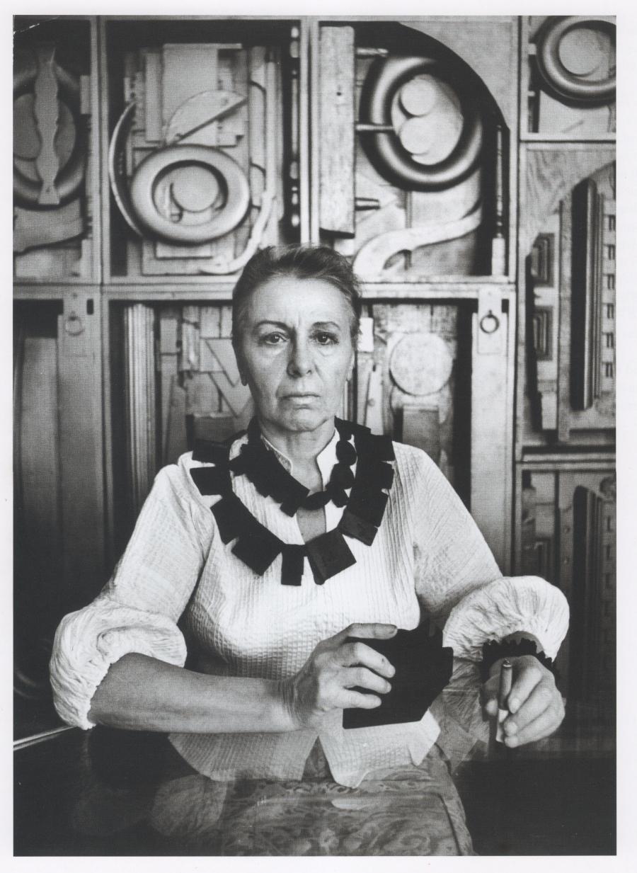 louise nevelson ugo mulas 1965