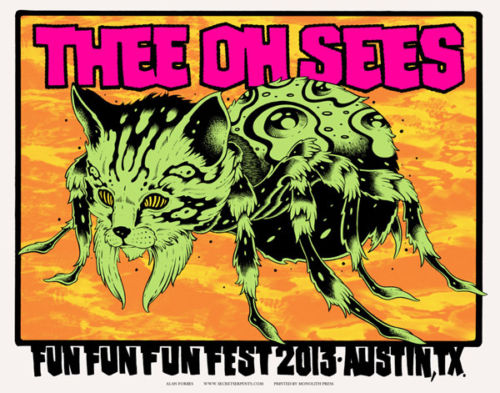 alan forbes thee oh sees