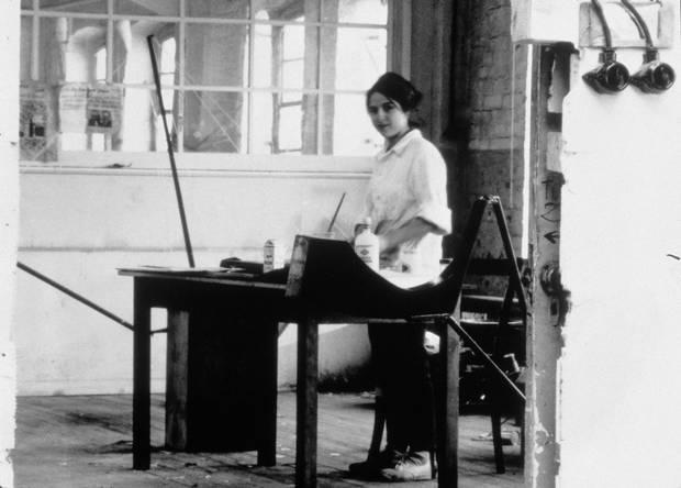 artist eva hesse 1965